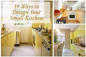 61 14 Ways To Design Your Small Kitchen Photo Gallery