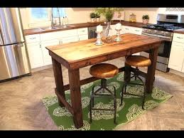 Kitchen Island Table Diy