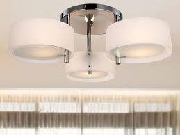 brushed nickel drum chandelier lighting