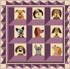 Dog Quilt Patterns Simple Coming Soon To EQ Boutique Justquiltin With Denise Russart