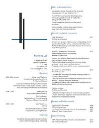 How To Write The Perfect Architecture Resume Writing Resume