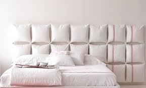 pillow headboard. the pillow headboard a