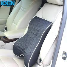 car seat back support memory foam office home chair car seat cushion lumbar back support pillow car seat back support office chair seat covers