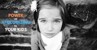 The Power Of Apologizing To Your Kids Dr Steve Silvestro