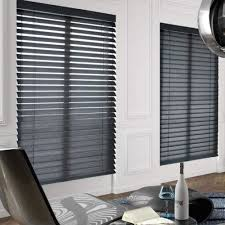 black wooden blinds. American Blinds Signature Wood In Black Wooden