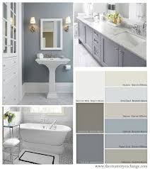 white bathroom cabinets gray walls. choosing bathroom paint colors for walls and cabinets white gray o