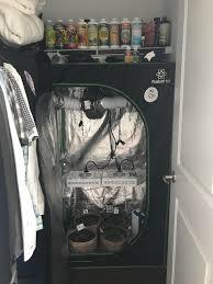 my closet grow setup