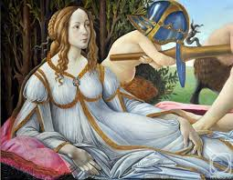 venuars a copy of painting by sandro botticelli