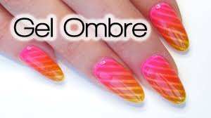 Neon Unicorn Glass Gel Ombre Nail Art Tutorial - YouTube