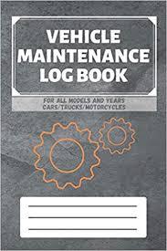 Mileage Book Vehicle Maintenance Log Book Service Repairs Maintenance