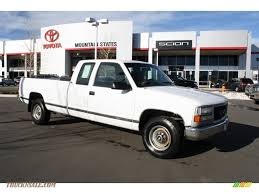 1995 Chevrolet C/K 2500 C2500 Cheyenne Extended Cab in White ...