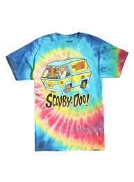 Scooby Doo Bedroom Accessories Scooby Doo Gang Tie Dye T Shirt Hot Topic