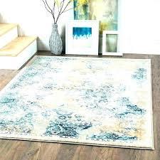 yellow gray rug post teal