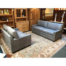 new bennett leather sofa from ethan allen 6948