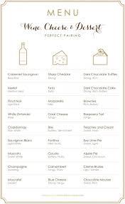 Italian Wine And Cheese Pairing Chart Delectable Pairings Wine Cheese And Dessert Pairings To