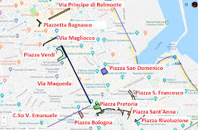 Mappa Scaricabile Zone Pedonali A Palermo