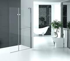 tri fold shower door folding glass shower doors hinged shower screen chromed aluminum profile fold glass