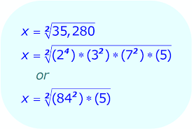 math simplifying square root expressions example 1 factor the radicand into a series