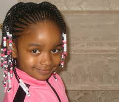 Braids For Little Black Girl Hair Style little black girl hairstyles with barrettes svapop wedding 4581 by wearticles.com