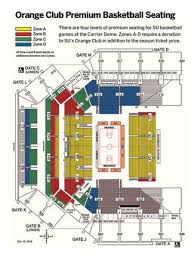 Syracuse Football Dome Seating Chart The Best Seats In The Carrier Dome And How To Get Them