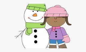 Winter Clipart Child Classroom Newsletter Template