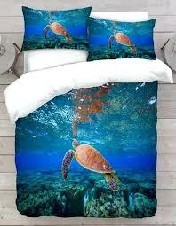 sea turtle bedding set turtle bedding set sea turtle comforter sets
