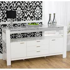 white glass furniture. Lexus High Gloss White Glass Sideboard Furniture O