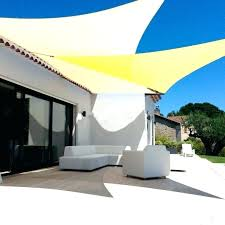 outdoor canvas sail shades blinds with zip sides superior and roll
