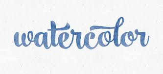 Photoshop Watercolor Filter Create A Watercolor Text Effect In Photoshop Bluefaqs