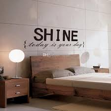 Small Picture SHINE Wall Sticker Quotes Vinyl Wall Decor Decals Wall Stickers