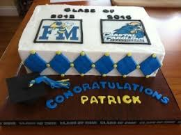 Guy Graduation Cake High School To College By Sweetscene On