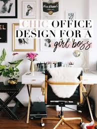 Chic office design White She Works Smarter Chic Office Design For Girl Boss She Works Smarter Blog