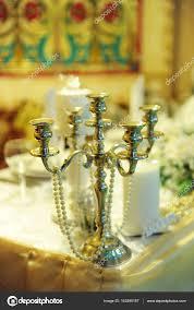 Vintage Kerzenständer Leuchter In Der Hochzeit Dekoration