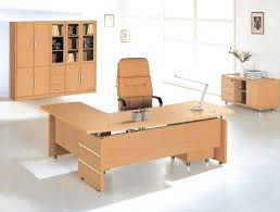 office furniture and design. Wood Home Office Desk Furniture Fascinating L Shaped Design Idea With Brown Wooden . And