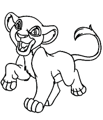 favorite simba coloring pages l9157 lion king coloring pages happy baby simplistic simba coloring sheets