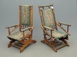 antique victorian platform rocking chairs