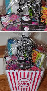 night gift basket pic for 24 diy gifts for teen girls