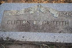 Clifton Rhodes Griffith Sr. (1866-1940) - Find A Grave Memorial