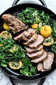 garlic herb pork tenderloin recipe