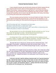 high school personal narrative essay examples high school   high school 33 narrative essay example pics photos personal narrative essay