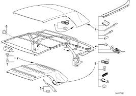 Folding top repair kits bmw e36 convertible 47416