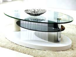 oval glass coffee table set gorgeous top tables designs black for living room modern