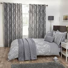 modern beautiful grey bedding sets king lostcoastshuttle set blossom gray bedroom size pintuck comforter full plain