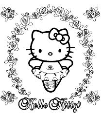 Hello Kitty Disegni Per Bambini Da Colorare
