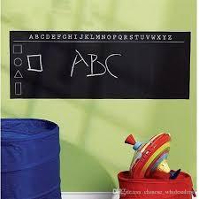45x200cm removable vinyl blackboard stickers chalkboard wall sticker chalk board wall paper art mural decals for kids room decor blackboard stickers