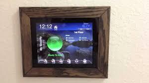 inexpensive diy ipad wall mount