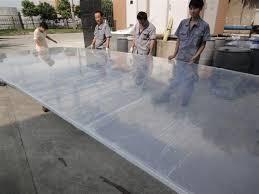 milky aquarium pool pmma fluorescent acrylic sheet clear plexiglass panels