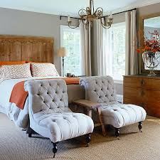 fancy design bedroom chair ideas cream leather chairs for glamorous home