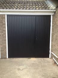 full size of cardale novoferm gemini steel side hinged garage door one third two access doors