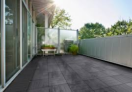 cali bamboo bamdeck composite outdoor decking tiles project charcoal finish